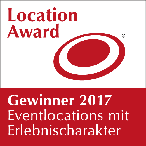Location Award 2017 Gewinner: Eventlocations mit Erlebnischarakter